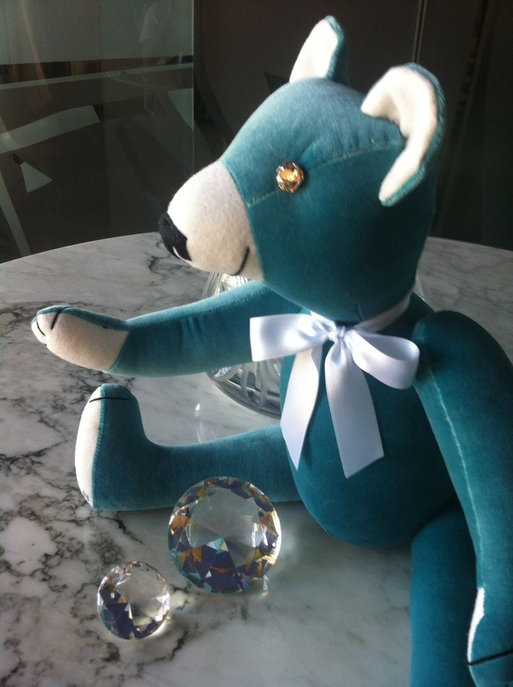 """""""Tiffany"""" Adult Teddy Bear, by GSBears."""