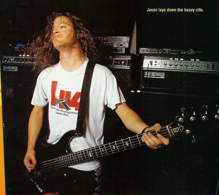 Jason Newsted of Metallica