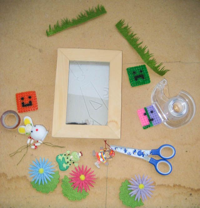 Unique photo frames that kids will love to make. They make gorgeous gifts too.