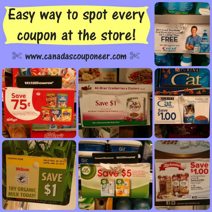 Learn how to find every coupon at the grocery store in under 5 minutes! 5 minutes is all it takes to start saving some money! Read the hot to article at: http://www.canadascouponeer.com/2014/01/Finding-coupons-in-grocery-stores.html