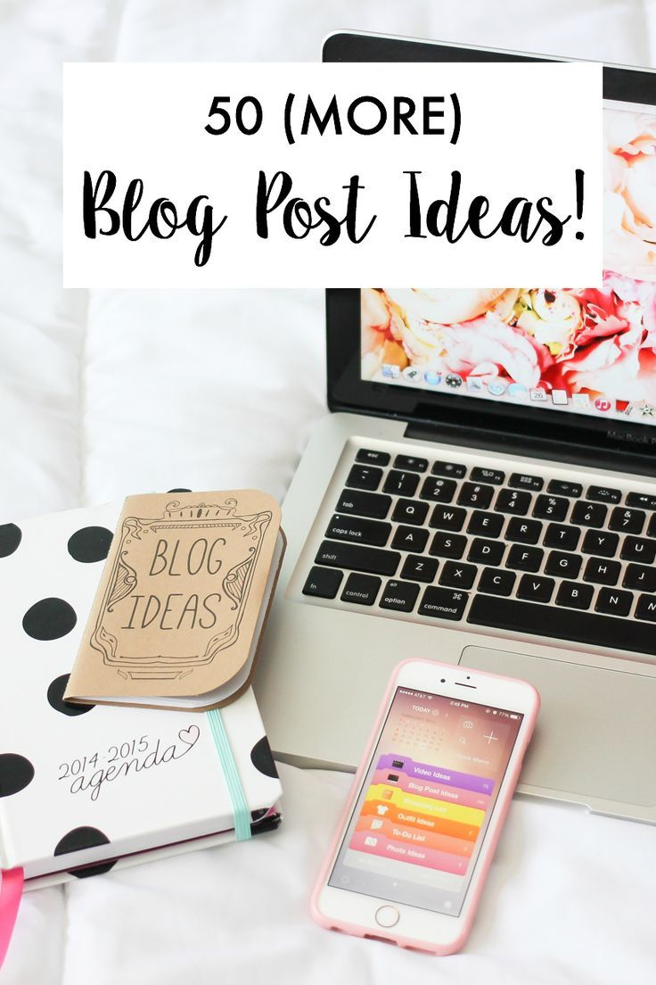Have no idea what to write about on your blog? This list of writing prompts will give you 50 more blog post ideas!
