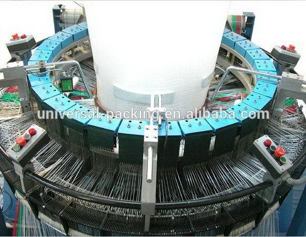 2015 nueva máquina telar circular, pp bolsa tejida máquina de tejer, servomecánica telar