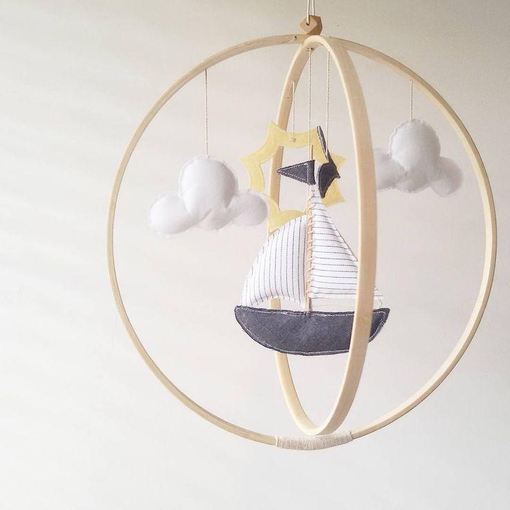 Today's happymail ☁☉⛵ • •  #sailboats #seaside #fresh #summertime #nautical #sailboatmobile #childrensrooms #handmadewithlove #momtobe #mumtobe #babybump #babygirl #babyshowergifts #babyontheway #pregnancy #shoppingsmall #nurserydesign #nurseryroom #nurseryinspo #nurserydecor #modernnursery #childrensinteriors #nurseryinspiration #tdpgraduate
