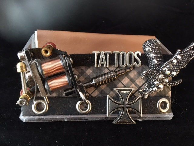 Tattoo Business Card Holder Display Stand Business Card Holders Card Holder Business Cards