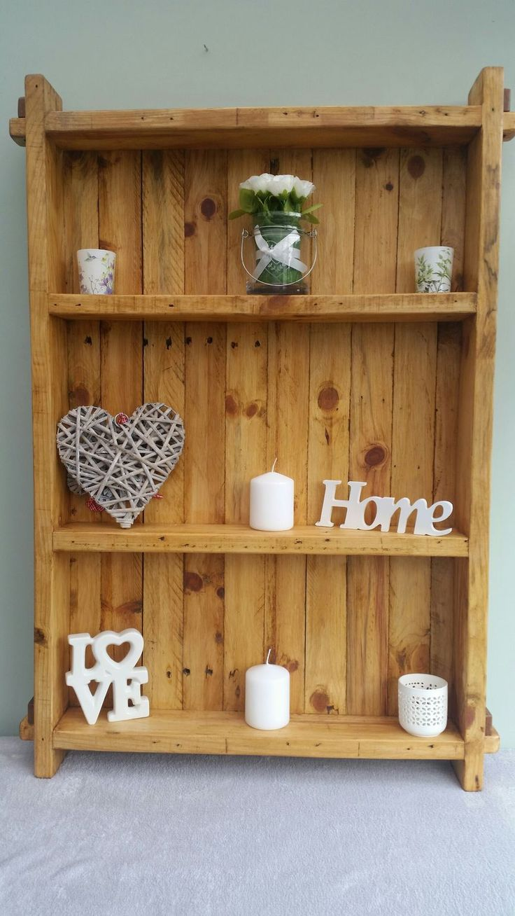 Shelves Made From Pallets 148 Best Pallet Projects Images On Pinterest Pallet Projects