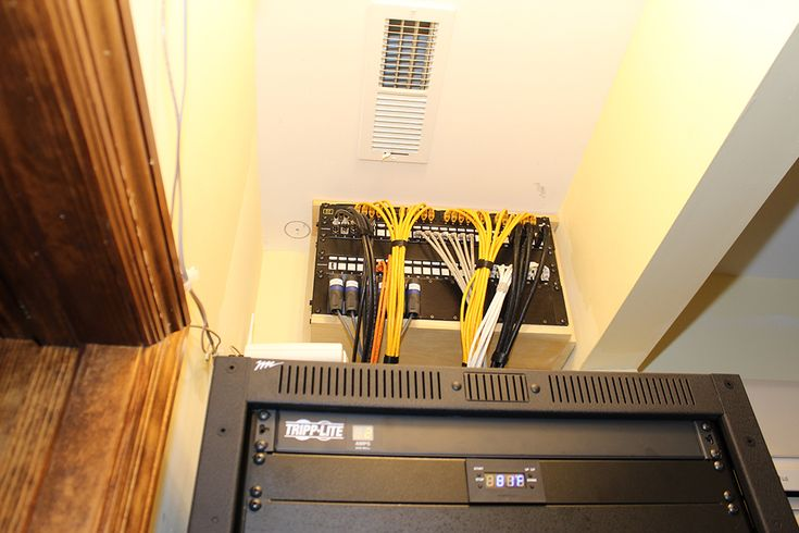 Media Rack Patch Panel Home Networking Pinterest