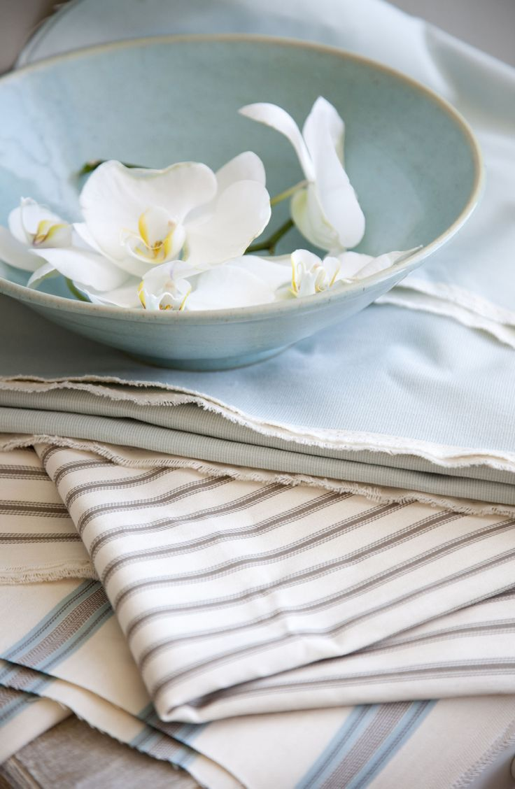 Stamford, cotton ticking collection from Svenmill Ltd