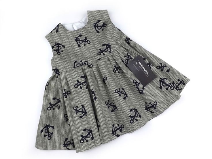 Anchor Dress alternative goth punk rock metal baby clothes | eBay