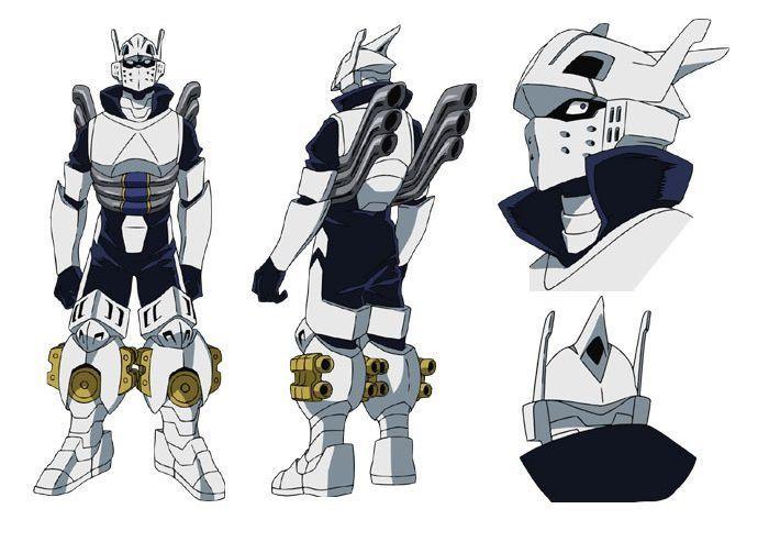 Tenya Lida Iida Ingenium Hero Costumes My Hero Academia
