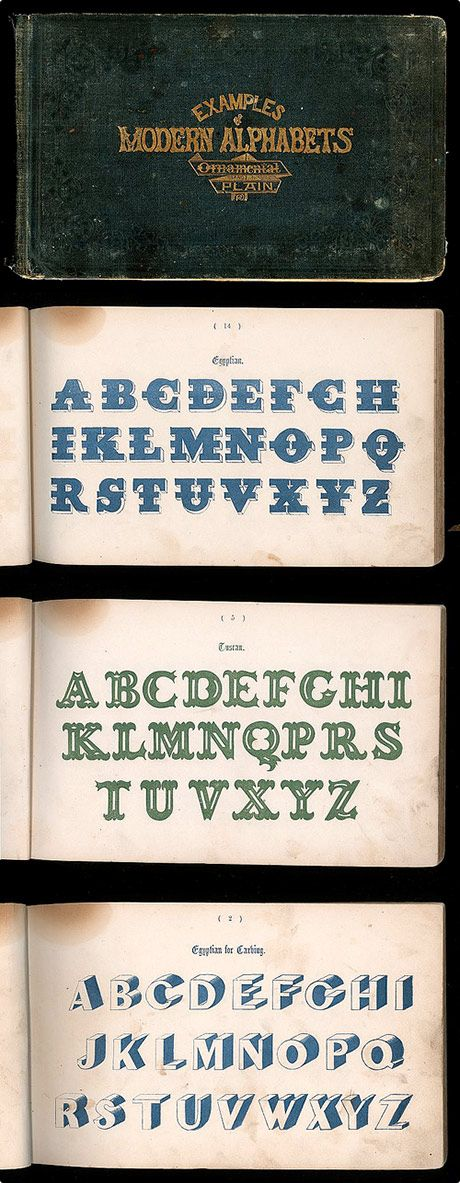 A Book of Modern Alphabets, 19th c.