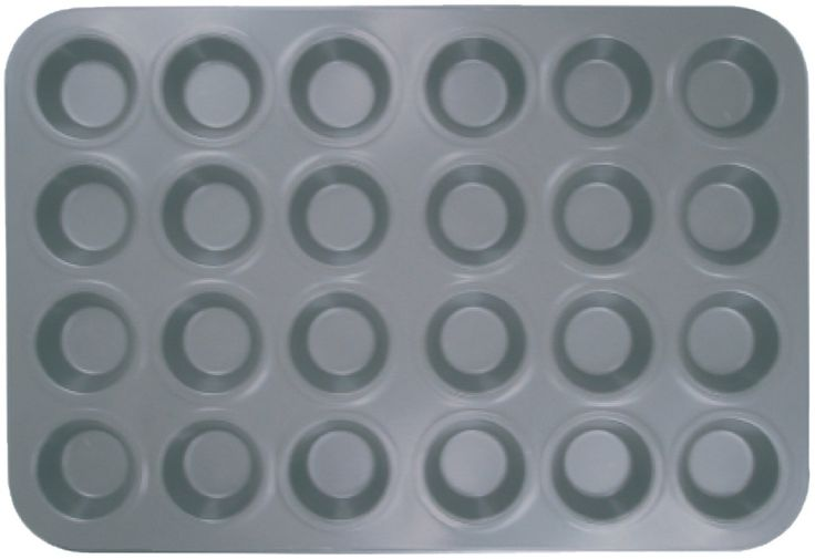 Thunder Group 24 CUP MUFFIN PAN - NON STICK - SMALL CUP ** Hurry! Check out this great product : Muffin and Cupcake Pans
