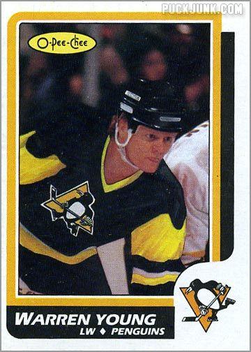 1986-87 O-Pee-Chee card #209 - Warren Young