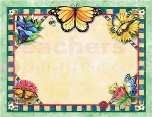 Susan Winget Butterflies Name Tags from TeachersParadise.com | Teacher Supplies and School Supplies