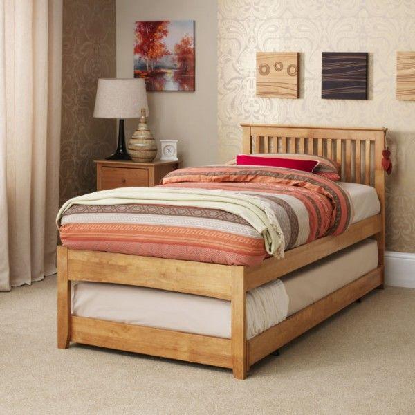 Freya Hevea Oak Guest Bed