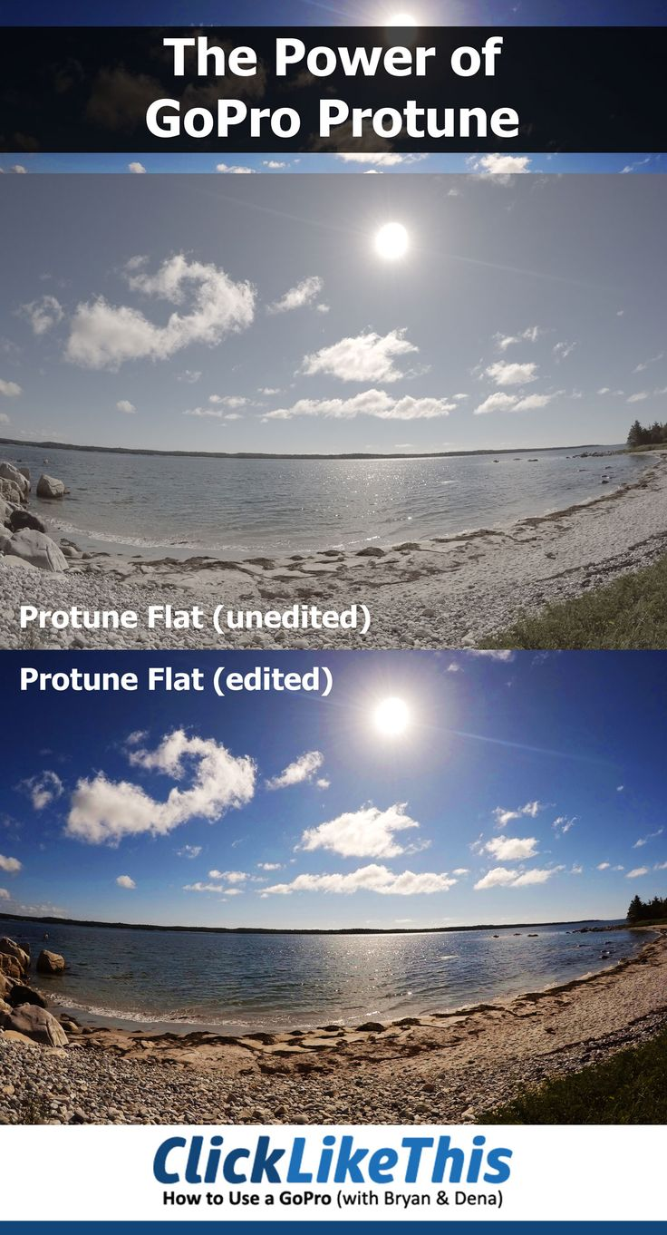 What Is Protune On GoPro Explained With Side By Photos