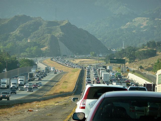 Los Angeles Traffic - The Newhall Pass | Flickr - Photo Sharing!