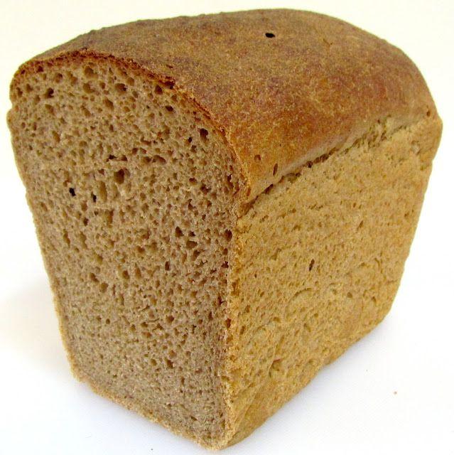Заварной пшенично-ржаной хлеб на закваске