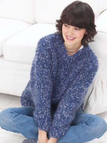 Beginner Sweater Yarn Free Knitting Patterns Crochet Patterns Yarnspi...