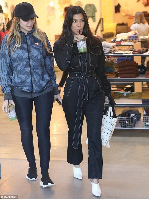 Oh baby! It was possible that Kourt was shopping for gifts from nieces Stormi or Chicago while at the upscale WeHo baby store