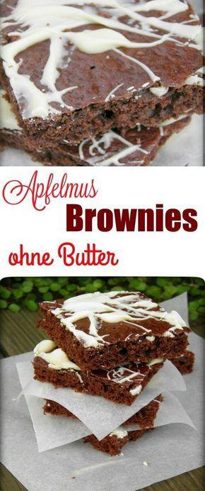 Brownies De Light Schoko Brownies Mit Apfelmus Rezept Ml
