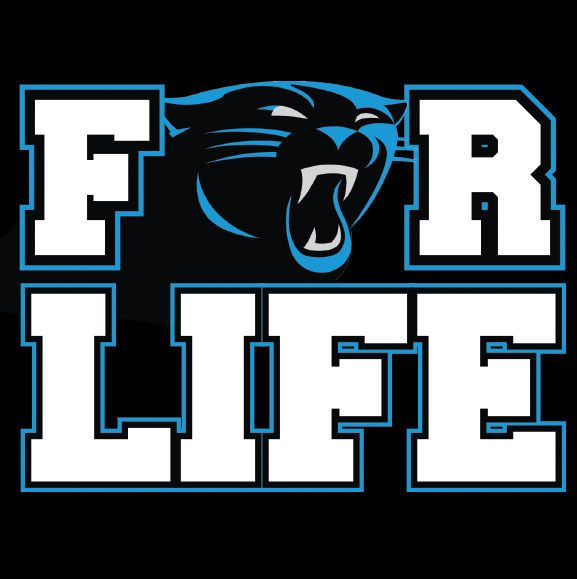 Carolina Panthers Panthers For Life Metal Fridge Magnet #0221 from $4.99