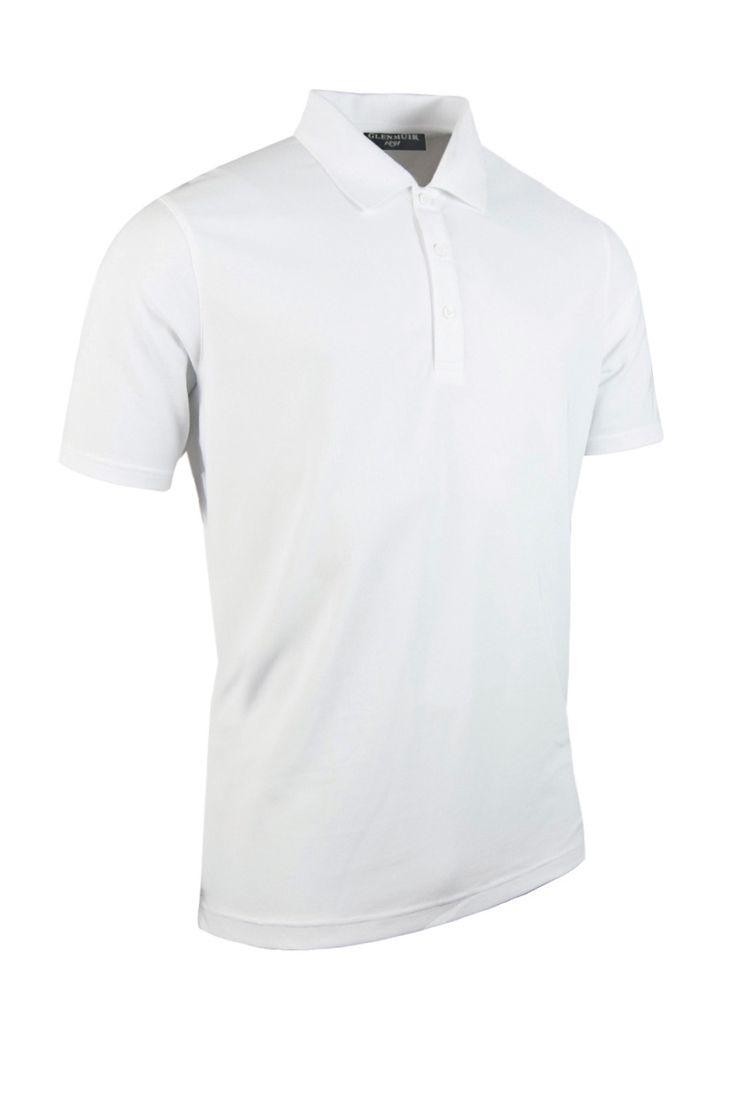 Mens Performance Pique Golf Polo Shirt