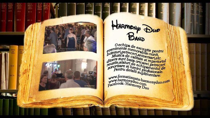 Formatia Harmony Duo Band-Prezentare nunta-Formatie nunta,muzica nunta.