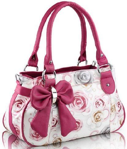 Bow Shape Fancy Handbags For S