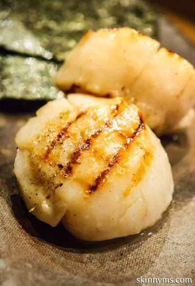 Easy broiled scallops recipe no time firecracker for Easy fish batter recipe