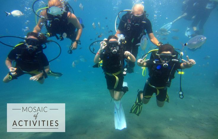 Discover the exciting underwater world of scuba diving with our experienced diving instructors. Just one of many adventures you can enjoy at Kipriotis Hotels! http://bit.ly/1W8TrGJ  #KipriotisHotels #Underwater #Sports #MosaicOfActivities