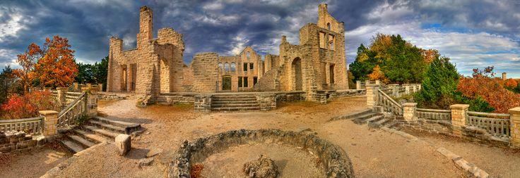 CAMDENTON, MISSOURI Ha Ha Tonka Castle Ruins   Atlas Obscura {NW MO}