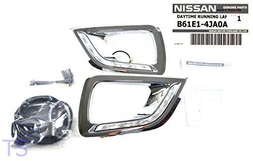 Set DRL Daytime Running Light Daylight OEM Genuine Fit For Nissan Frontier Navara NP300 UTE D23 2015 2016 2WD 4WD 4x2 4x4 King Cab Open Cab Truck Pick-Up