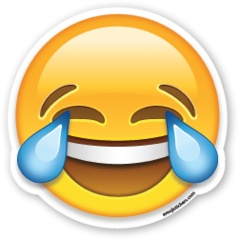 Face with Tears of Joy | Emoji Stickers