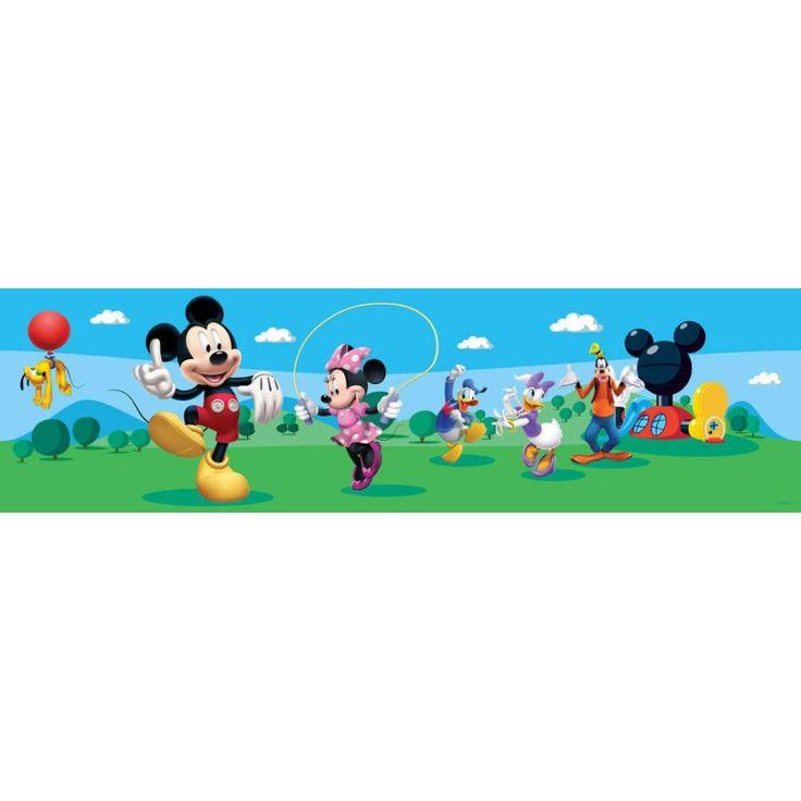 Walt Disney Mickey egér fal bordűr