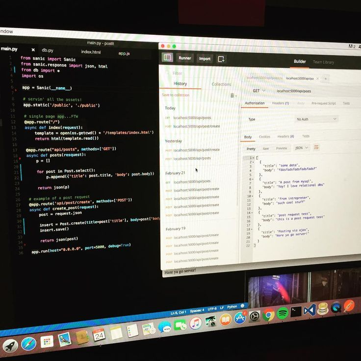 i have a simple working rest api written in python pythonprogramming python