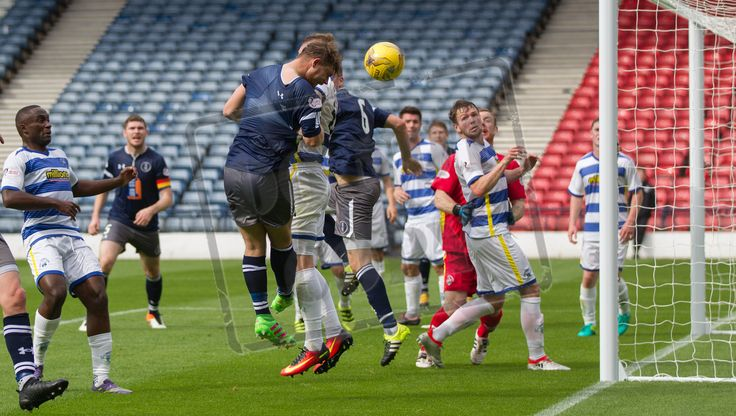 Queen's Park's Aiden Malone in action during the IRN-BRU Cup game between Queen's Park and Morton.