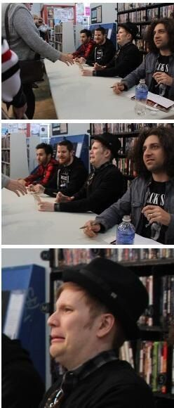 Me when i remember something i did five years ago that was really embarrassing.. hahaha patrick lol