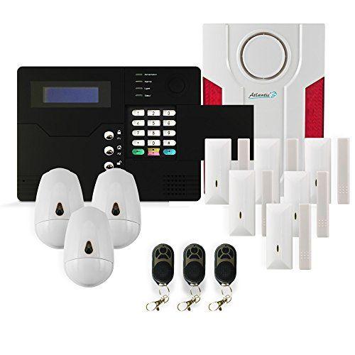 Atlantic'S ST V KIT 5 Alarme maison sans fil GSM application smartphone #Atlantic'S #Alarme #maison #sans #application #smartphone