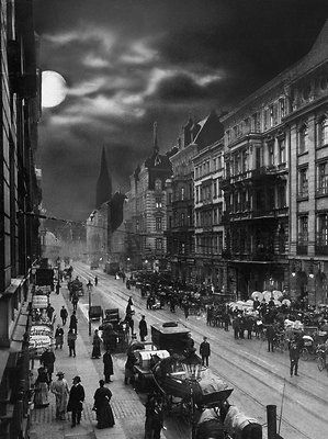 Berlin ca.1910 vor Ullstein in der Kochstrasse