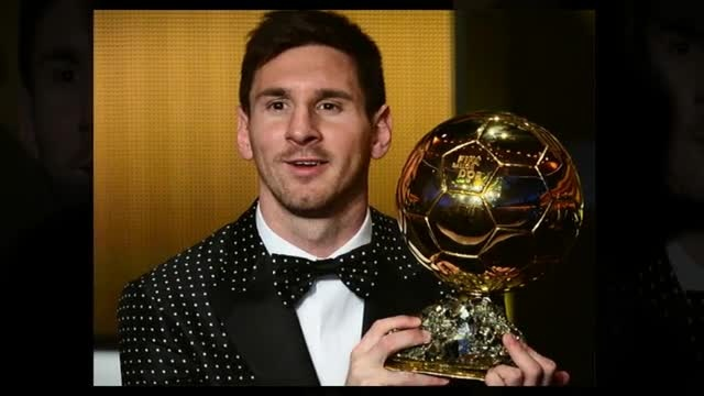 Leo Messi wins the FIFA Ballon d'Or for the fourth time [VIDEO] - created using www.picovico.com