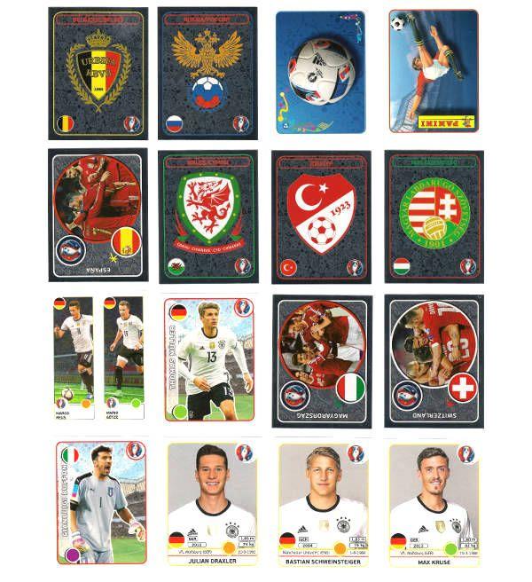 Panini EURO 2016 Stickertüte, Stickerpoint