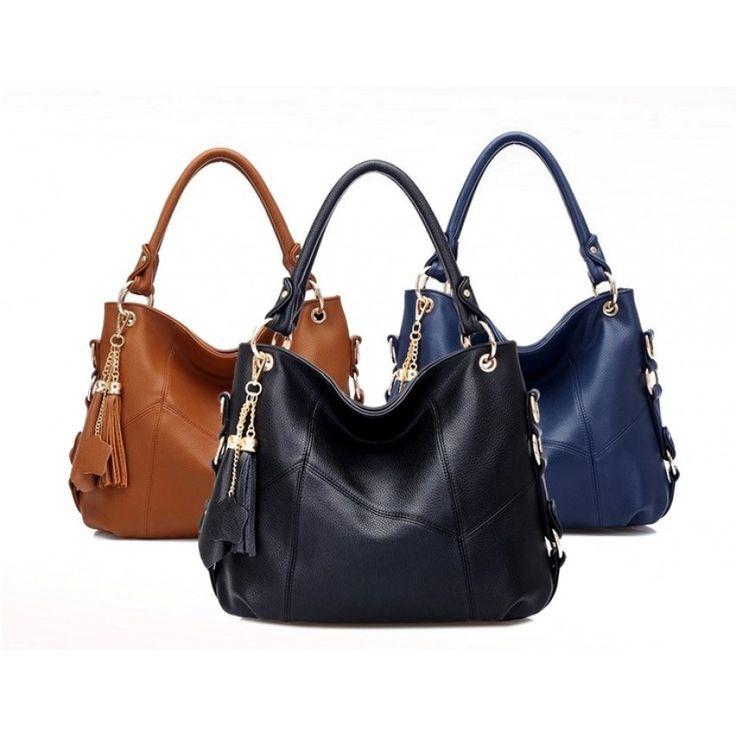 Genuine Leather Modern designer handbag in high quality for Women - Only 2 Left - Hurry!