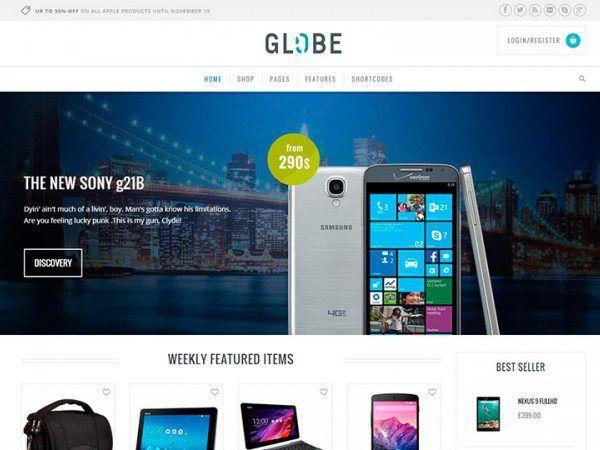 Yith Globe Premium Woocommerce Themes Woocommerce Themes Corporate Wordpress Themes Woocommerce