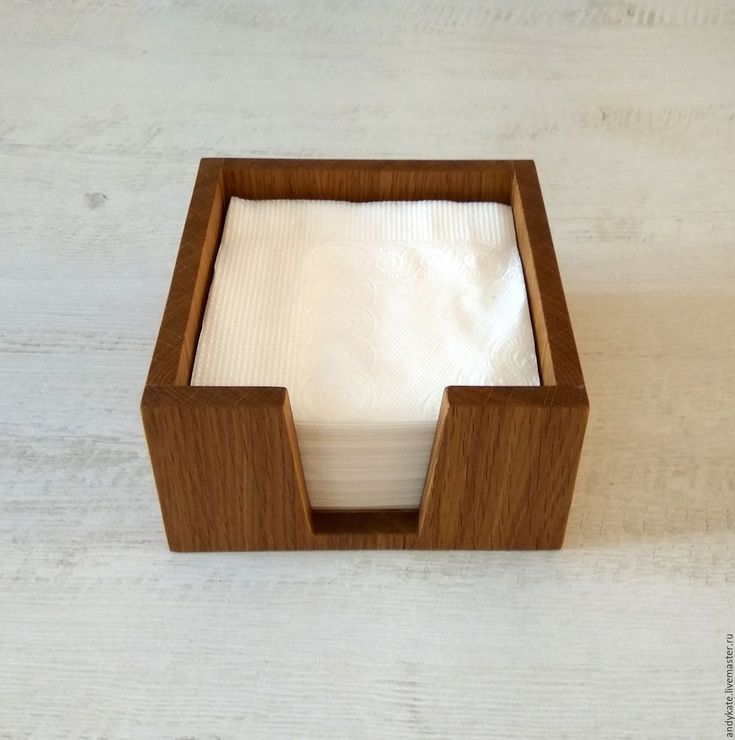 Купить Салфетница из дуба (145х145х75мм) - деревянные заготовки, кухонный интерьер, заготовки из дерева, салфетница