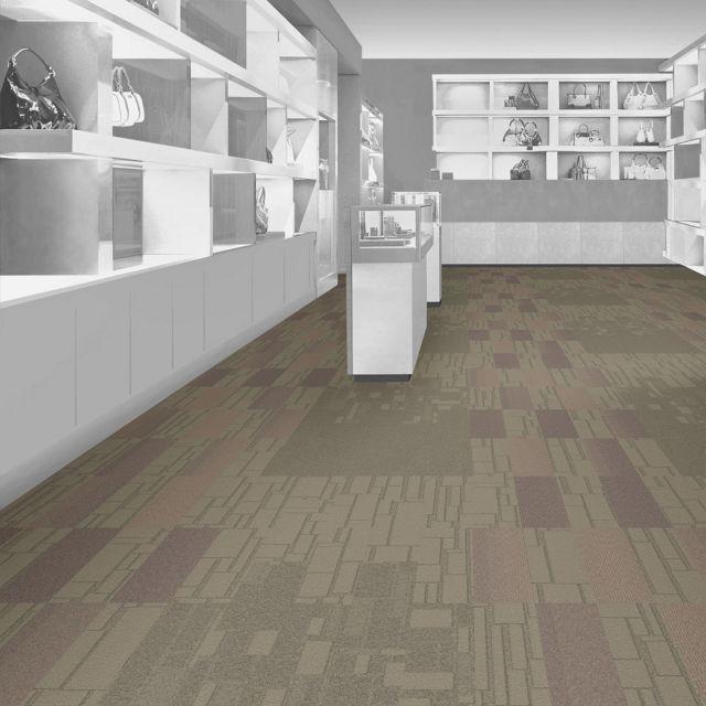 Interface Floor Design I Produktname: Farbe, Produktname: Farbe I Finden Sie Inspiration für kommende Projekte mit dem Floor Designer von Interfac   | EM553: Cobblestone Blvd., EM552: Cobblestone Ave., EM551: Cobblestone St., B703: Driftwood |   Interface Floor Design I Produktname: Farbe, Produktname: Farbe I Finden Sie Inspiration für kommende Projekte mit dem Floor Designer von Interface
