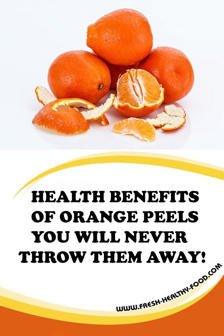 You love oranges? You eat them a lot? What about orange peels? You probably throw them away as most of people do. But do you know that orange peels are amazing source of vitamins, minerals and nutrients that have amazing benefits on human health...