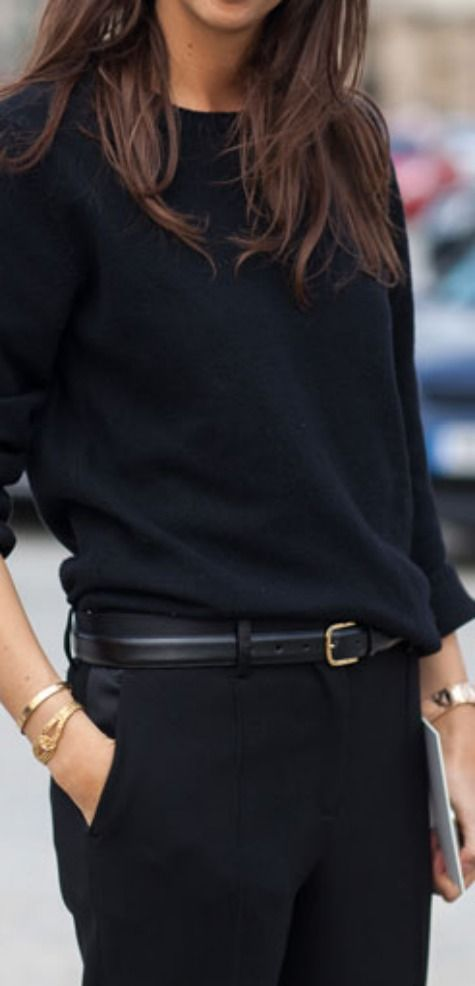 Needing a classic black belt with minimal gold detail like this one.