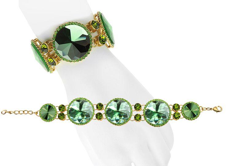 Green Mirror Bracelet