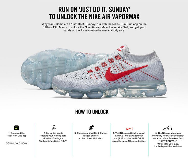 Nike Air VaporMax 'Uni Red' Available Early for Runners - EU Kicks: Sneaker