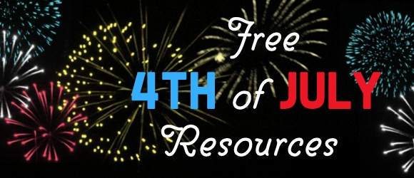 List of free Fourth of July teaching resources